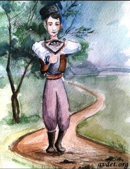 1 Козь ташламакъ (бросать (кидать) взгляд) – мысленно останавливаться на чем-либо очень кратко, недолго.