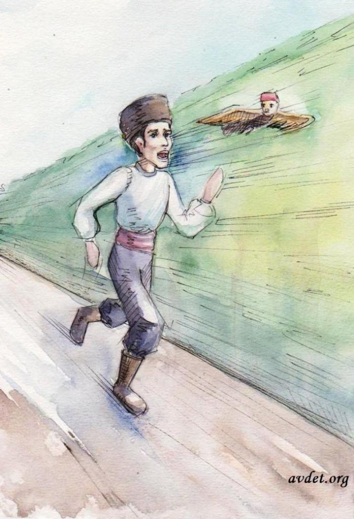 2 Табанларны ягъламакъ (букв. - смазать маслом пятки) - давать стрекача, то есть сбегать от кого- или чего-либо