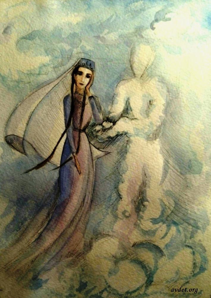 2 - Коклерде учмакъ (букв. витать в облаках) – пребывать в мечтательном состоянии, предаваясь бесплодным фантазиям, не замечая окружающего.