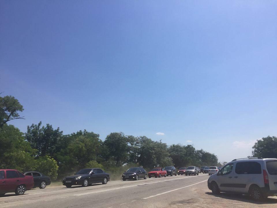 авария на трассе симферополь-евпатория 16.07.2016