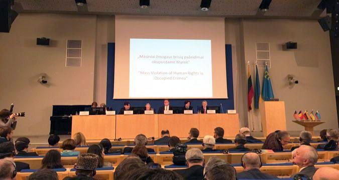 всемирный конгресс крымских татар в вильнюсе