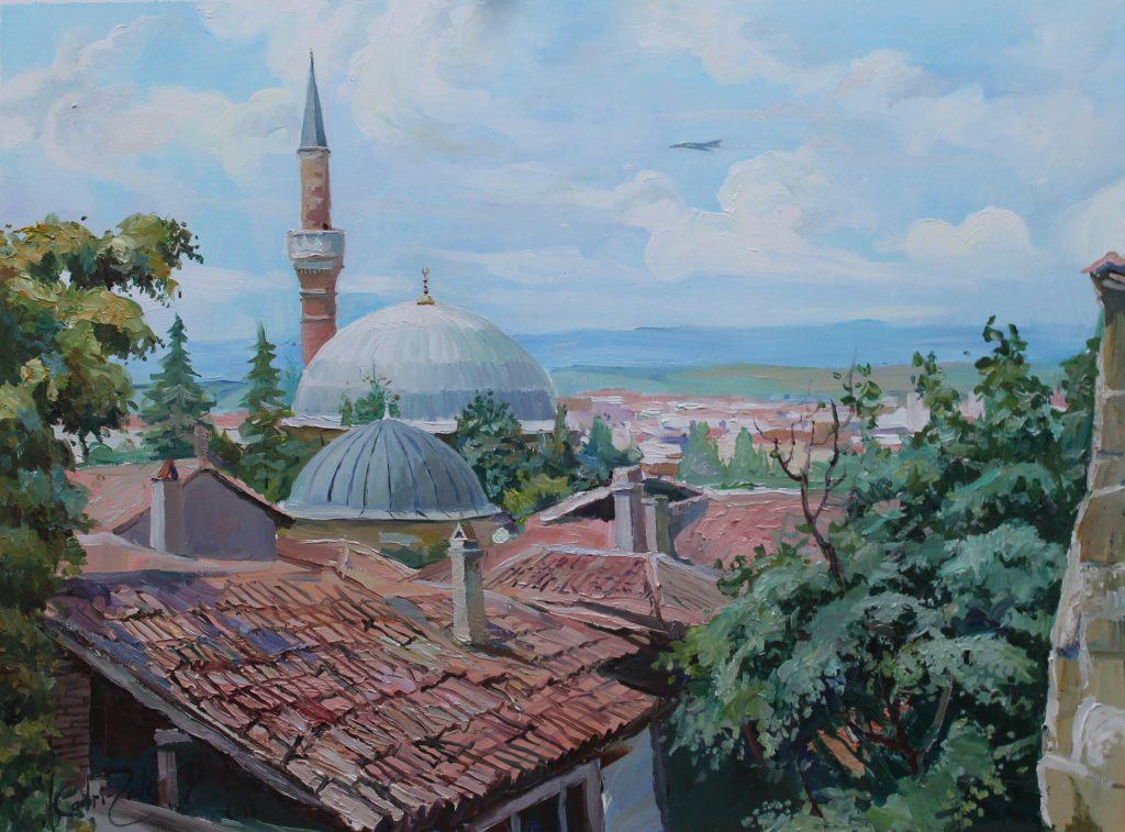 Мечеть в Эскишеире.Турция 2013г.