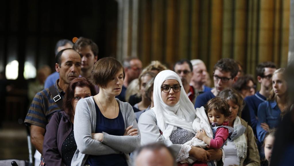 Мусульмане на католической службе в Европе_