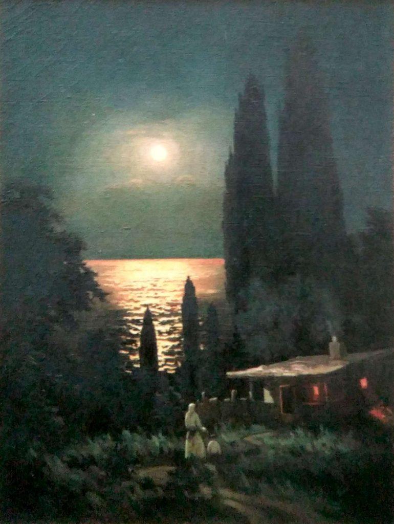 Мемет Абселямов, Ночь в Крыму, 1958