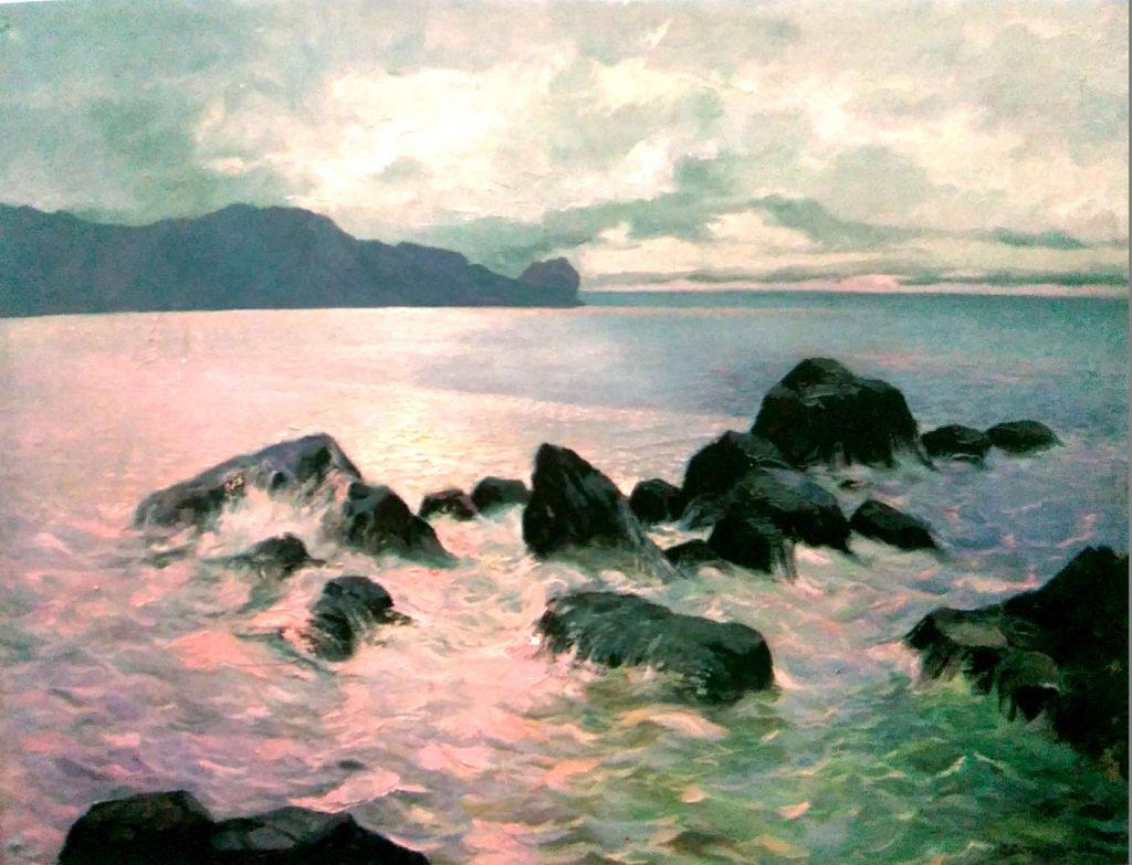 Сеитхалил Османов. Черное море, 1988
