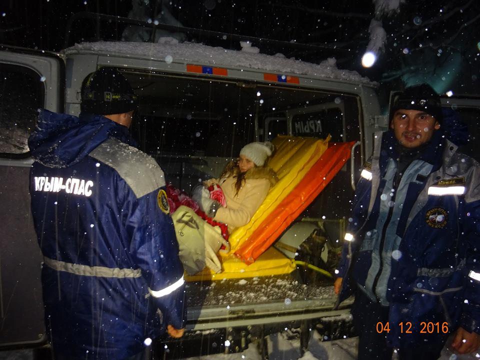 эвакуация беременной