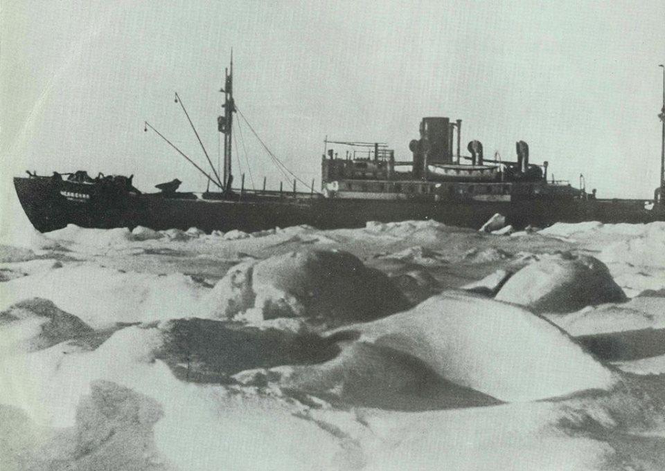 челюскин в северном ледовитом океане