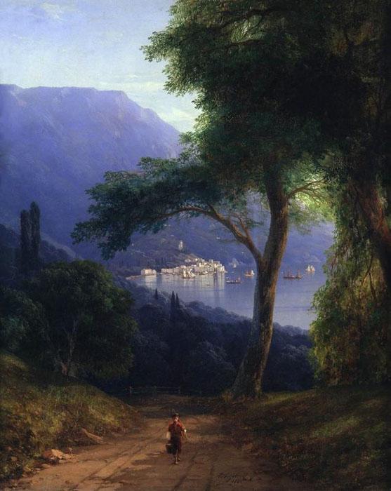 Вид из Ливадии, 1858 г.