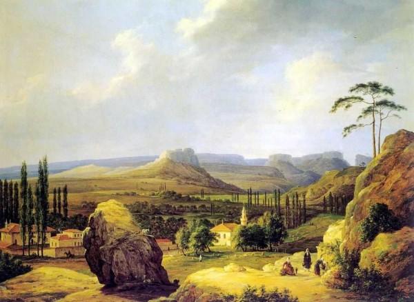 чернецов. вид каралезской долины