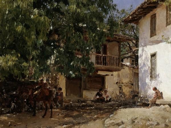 серов татарская деревня в крыму