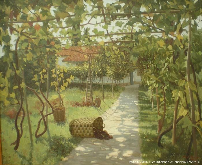 Нури Якубов. Виноградная аллея