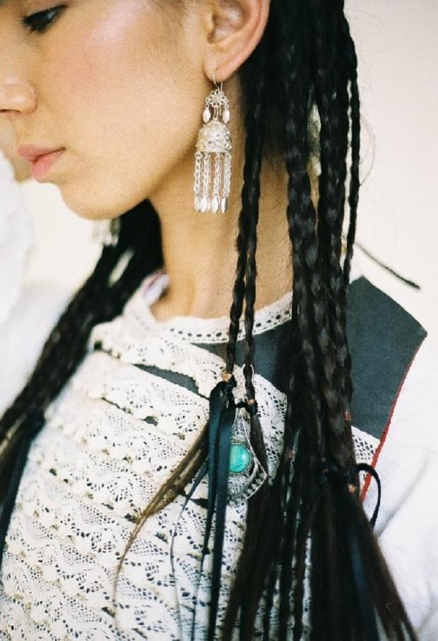 подвески на косах