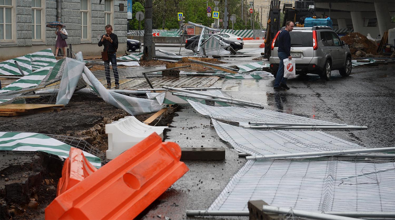 хорошее будет последствия урагана в москве фото самую первую