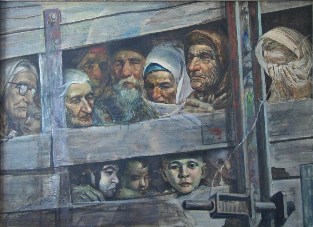 7.Поезд смерти2. 1997 г. р.92х140 х.м.