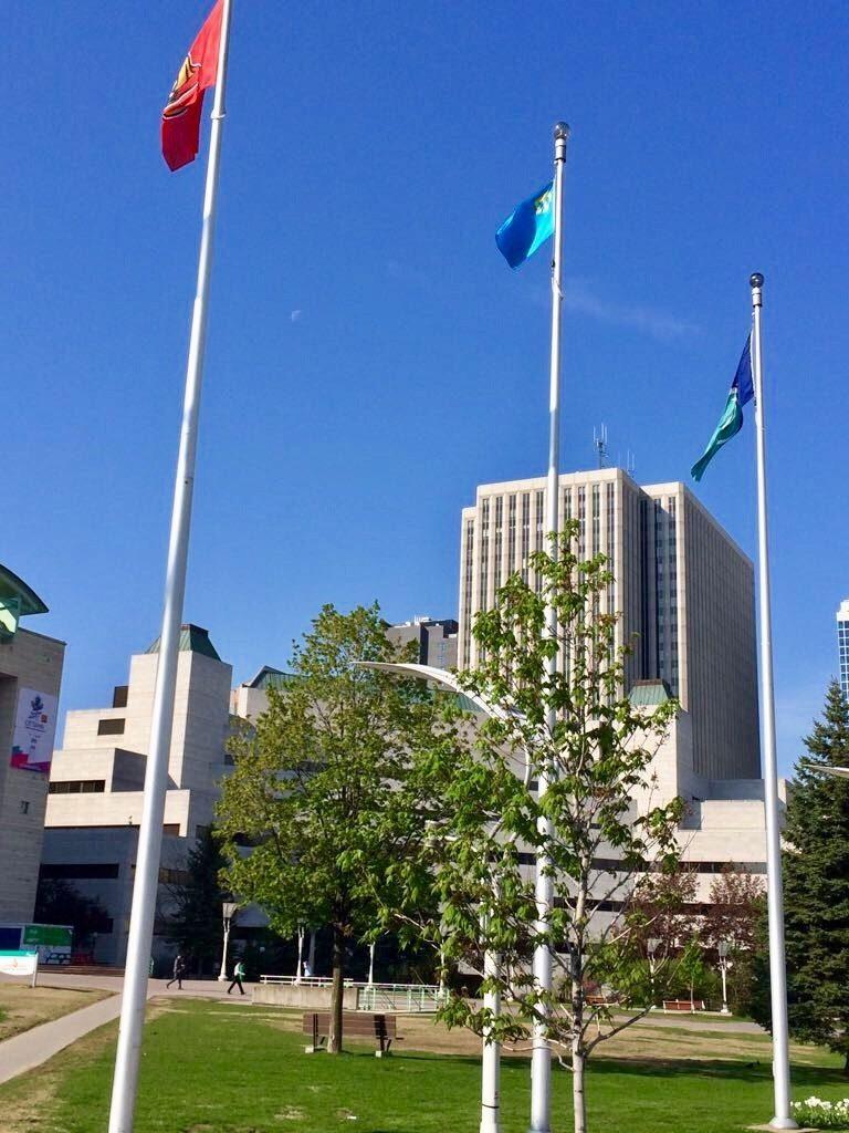крымскотатарский флаг Торонто