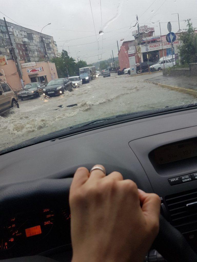 Симферополь, район улицы Бородина