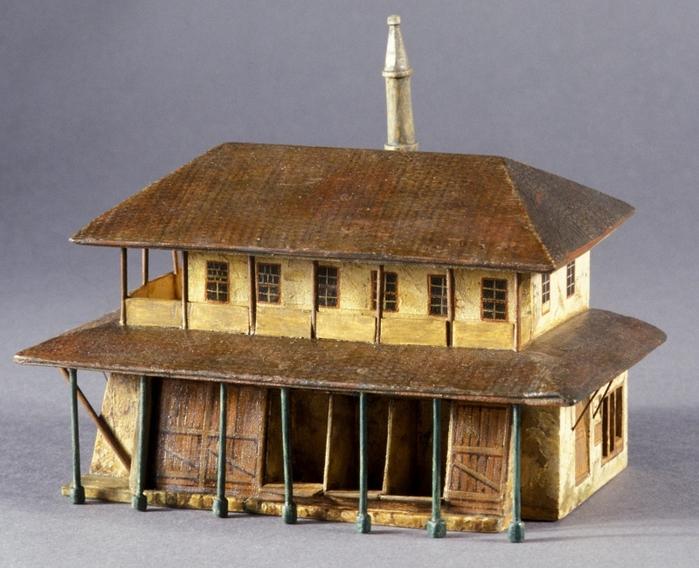 Татарская кофейня. Макет Вильгельма Кизеветтера. 1845-1847 годы