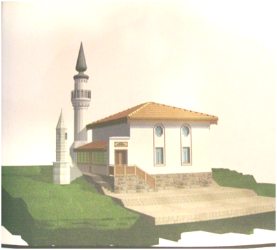 Эскизный проект воссоздания реставрации мечети на территории комплекса Зынджырлы медресе