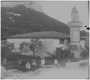 Салачик. Мечеть с минаретом. Фотография 1920–1930 гг. Из фондов БИКАМЗ.
