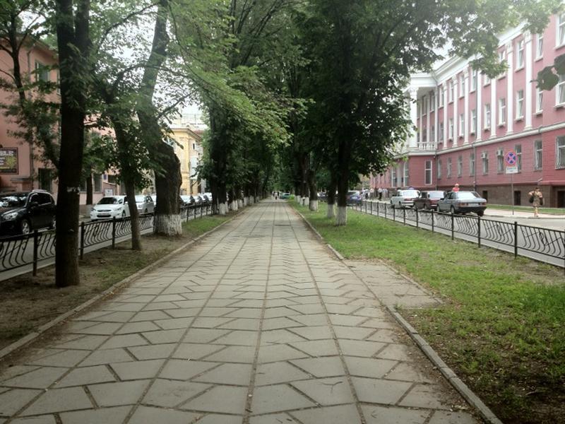 Симферополь, бульвар Франко