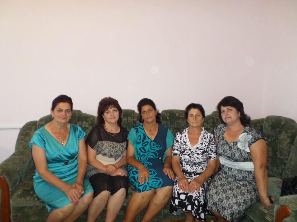 Слева направо_Сание, Мавиле, Айше, Мумине, Лиля Сахтара