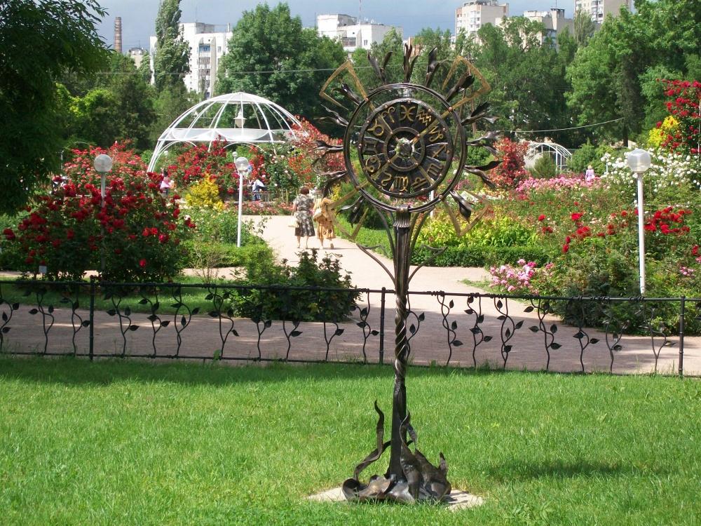 ботанический сад тну симферополь