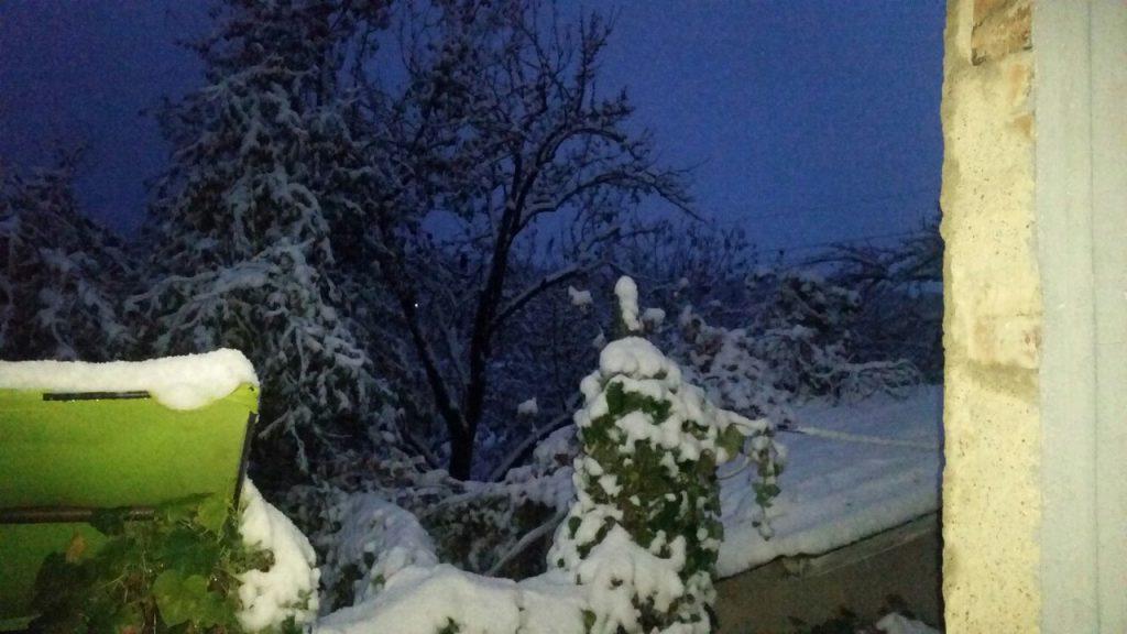 снег крым1