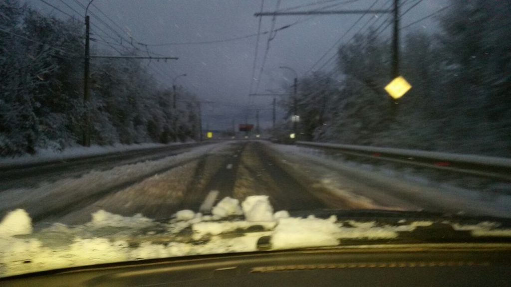 снег перевал