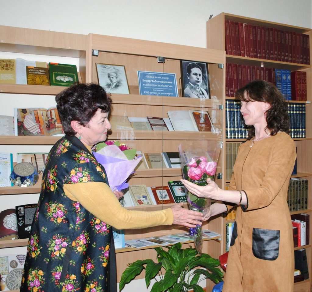 Букет цветов автору книги (2)