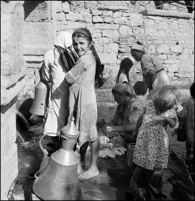 UKRAINE. Crimea. 1943. Well in a Tartan Village. M-UK-VOR-001