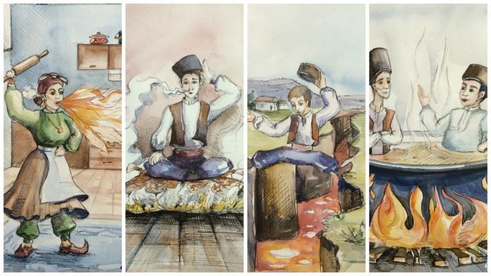 Арт-студия Sanat: сестры Аметовы