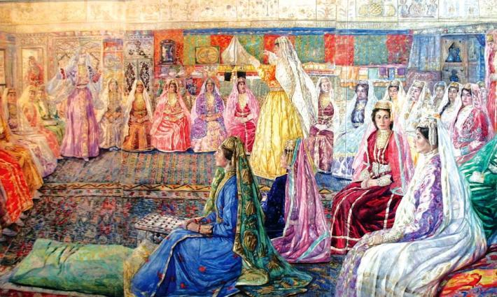 Къызынъ бешикте олсун, джегези – сандыкъта (Дочь пусть будет в люльке, а приданое – в сундуке)