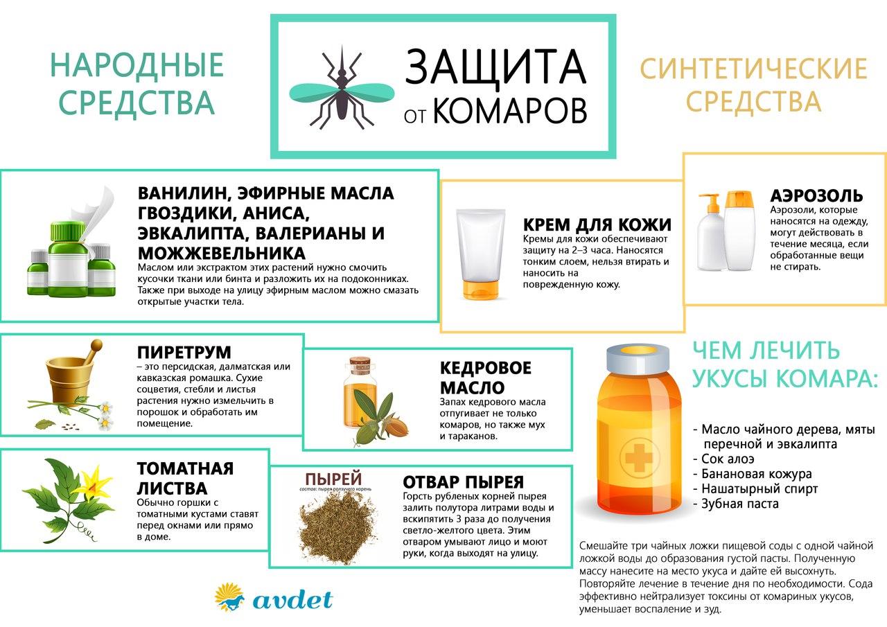Средство от комаров в домашних условиях: быстро, видео