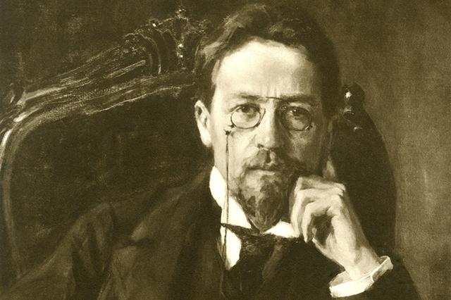Russian writer, playwright Anton Pavlovich Chekhov (1860-1904).