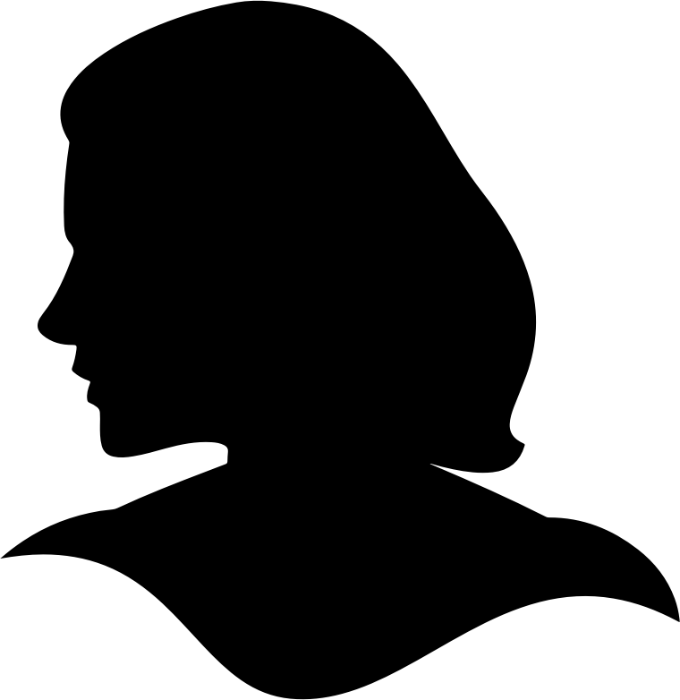 Female-Head-Silhouette