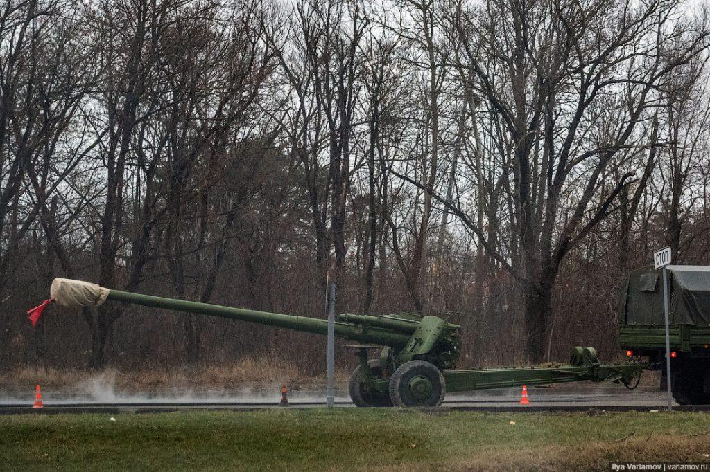 Размещены новые фото ивидео путинской военной техники вКрыму