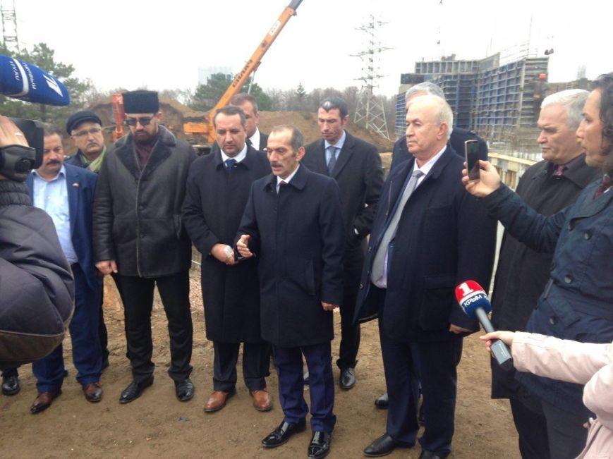 турецкая делегация в крыму