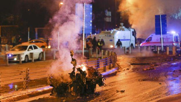 теракт в стамбуле 10.12.2016