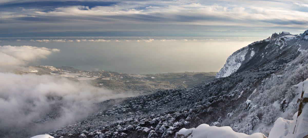 Gaspra view from Ai-Petri