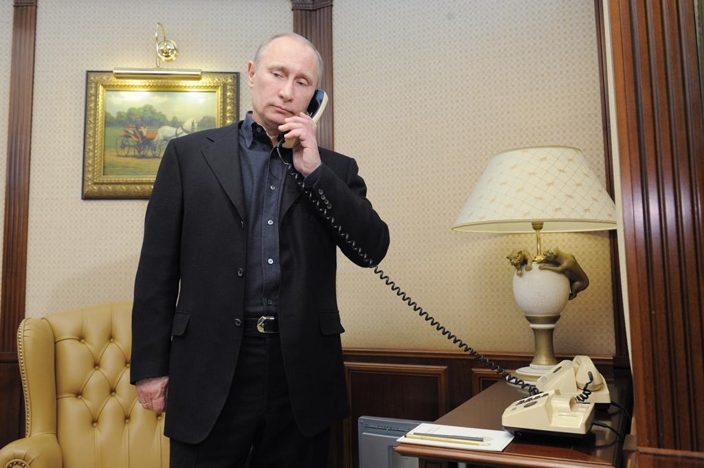 ВКремле поведали, очем Путин говорил сТрампом