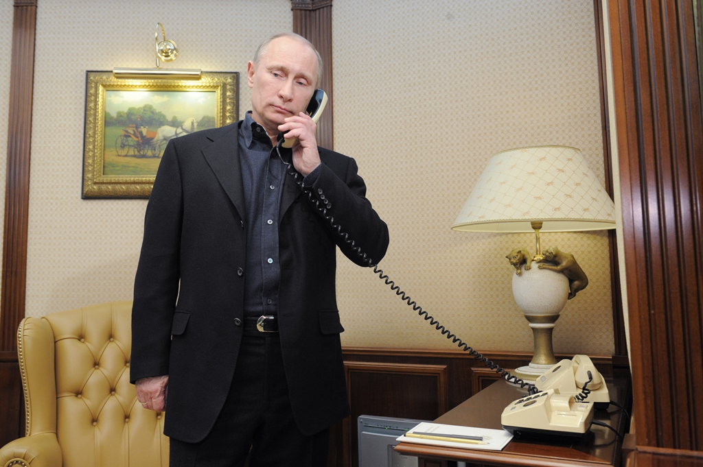 Стало известно очем говорили Путин иТрамп