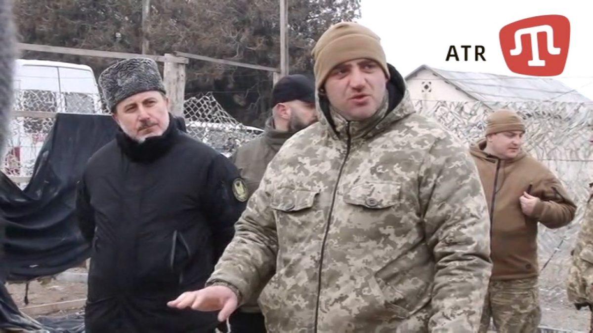 Комбат ВСУ извинился заразоружение незаконной военной базы татарского «Аскера»