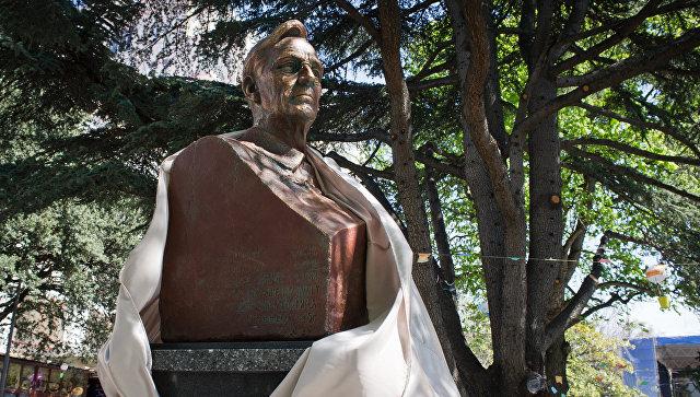 памятник рузвельту