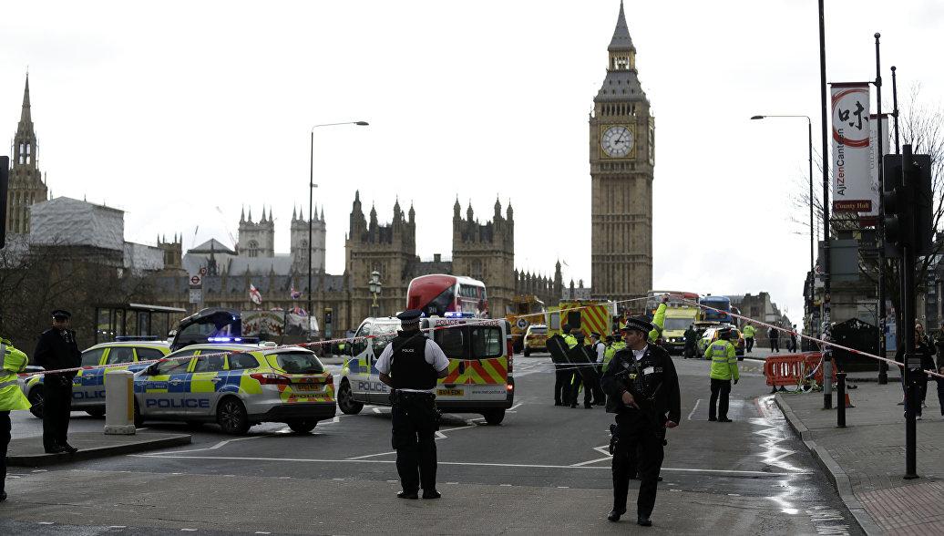 Встолице Англии произошел двойной теракт. необошлось без жертв