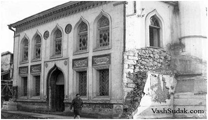 Мечеть Орта-Джами. Фото 1920-1930 гг. Архив БИКАМЗ.