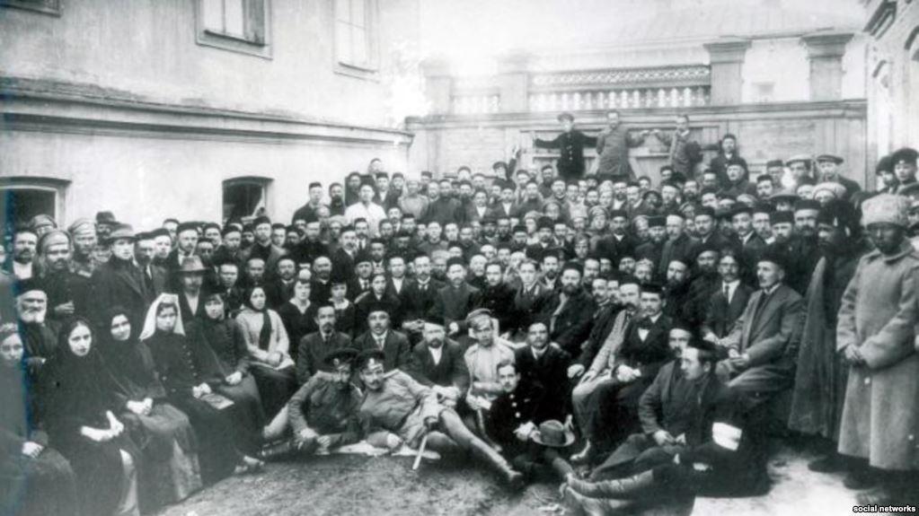 Первый Курултай, Бахчисарай, Крым, 1917 год